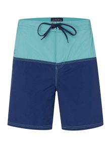 Criminal Colour Block Swim Shorts