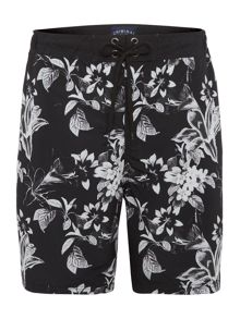 Criminal Floral Print Swim Shorts