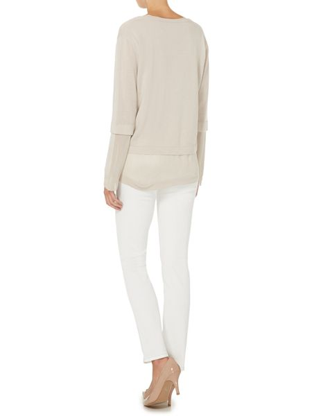 Max Mara Hangar light wash skinny jean