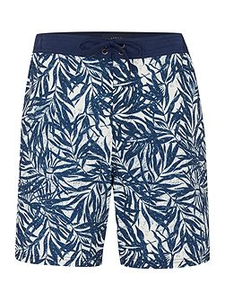 Palm Print Swim Shorts