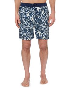 Criminal Palm Print Swim Shorts