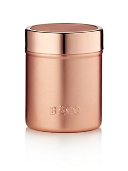 Cocoa shaker in electric copper