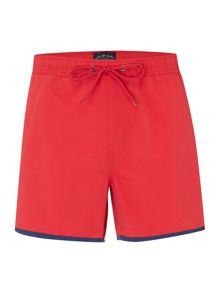Contrast Binding Swim Shorts