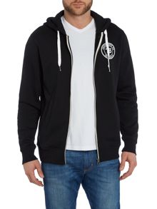 Jack & Jones Zip Through Hooded Sweatshirt