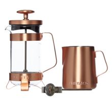 Electric copper coffee set