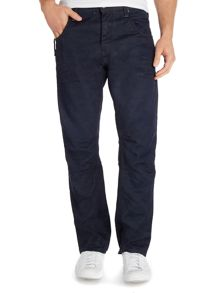 Resin Treated Loose Fit Jeans