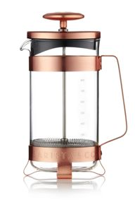 Barista & Co 8 cup plunge pot electric copper