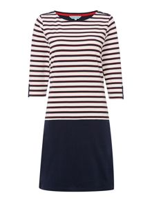 Dickins & Jones Stripe and Colour Block Dress