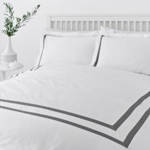 Graphic edge 400 thread count duvet cover set