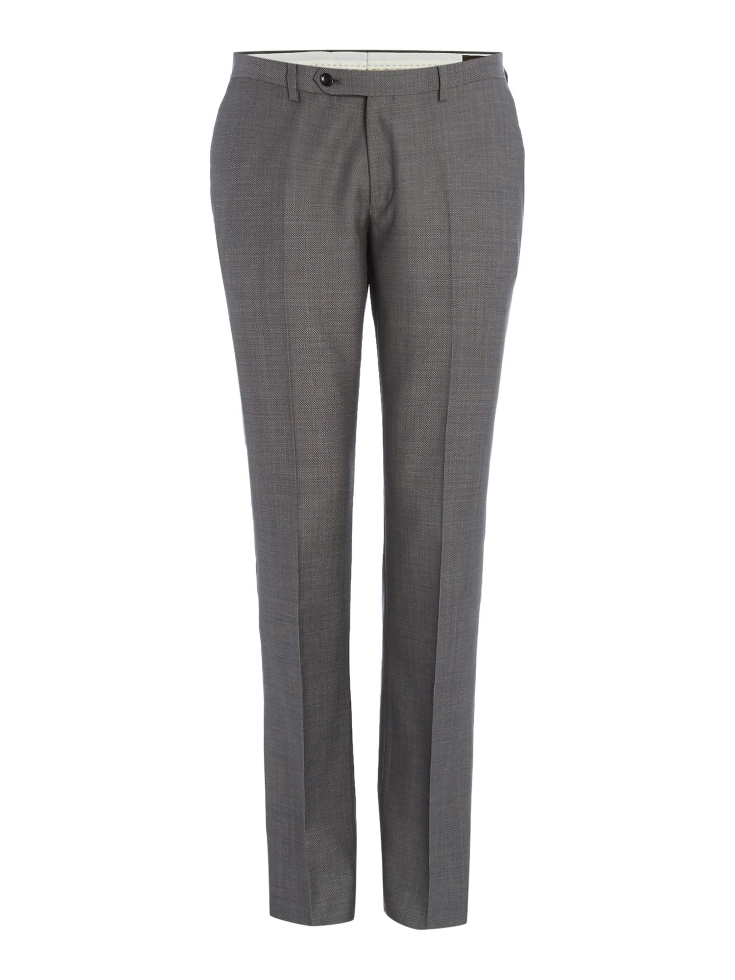 Men's Corsivo Vivaldo Birdseye Suit Trouser, Grey