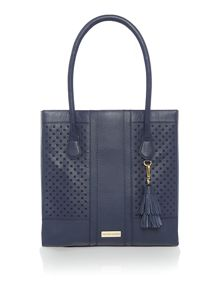Dickins & Jones Tamerton cut out tote handbag