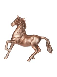 Linea Medium Antique Copper Finish Horse
