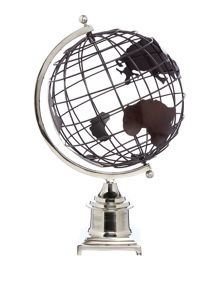 Oversized globe ornament