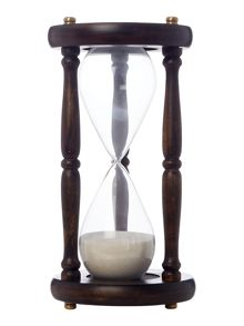 Linea Wooden hour glass