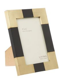 Living by Christiane Lemieux Brass Corners Frame Range