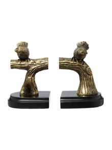 Living by Christiane Lemieux Bird bookends
