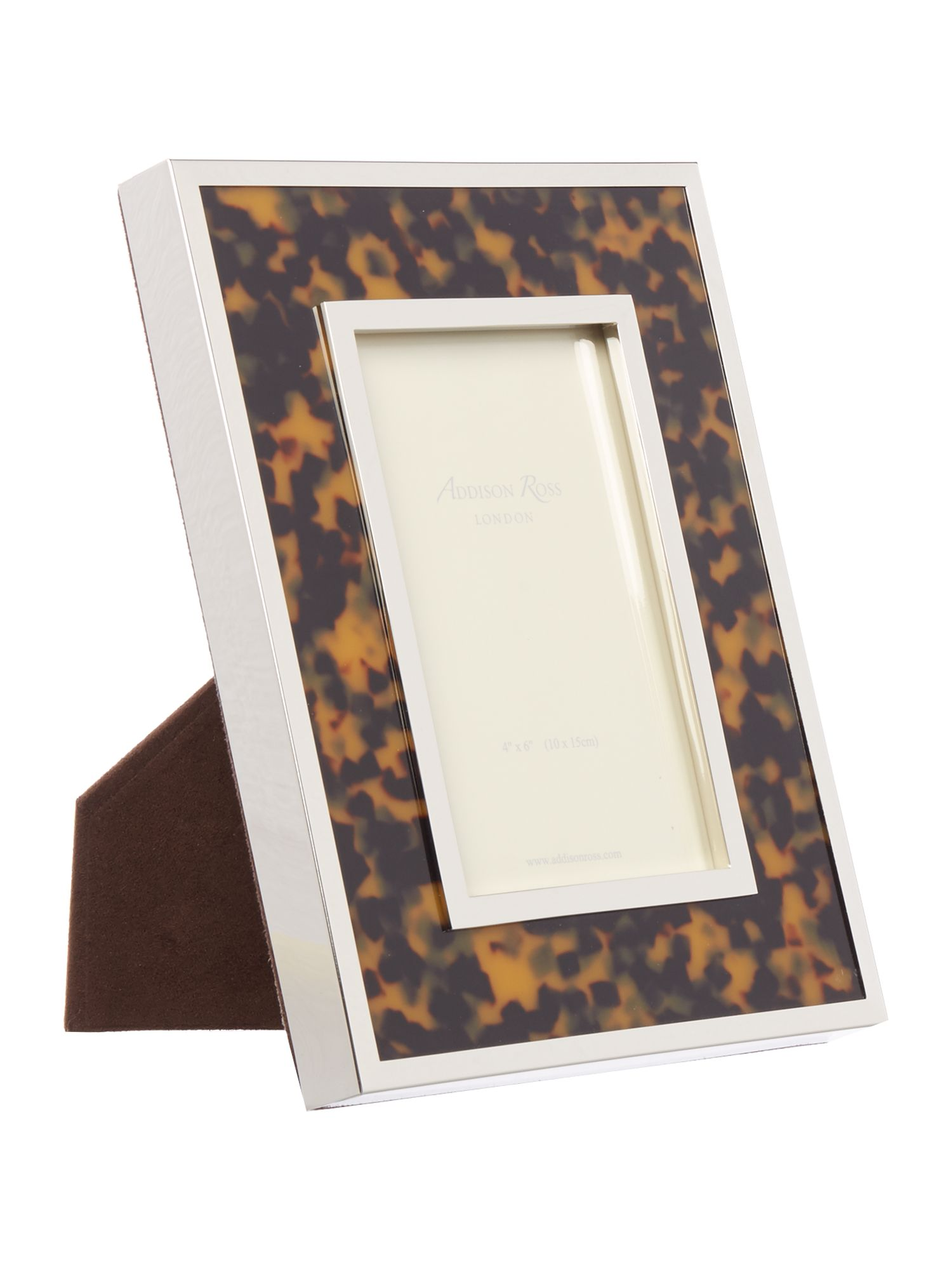 Image of Addison Ross 4x6 faux tortoise shell frame
