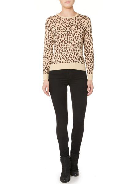 Therapy Leapard Print Jumper