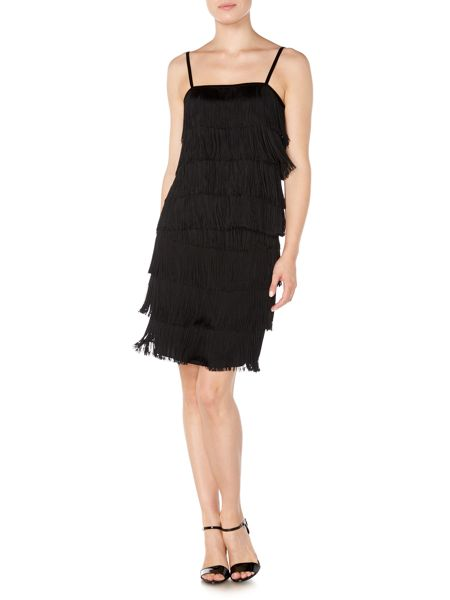 Lauren Ralph Lauren Nadima sleeveless fringe top