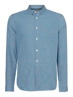 Griffiths Long Sleeve Polka Dot Shirt