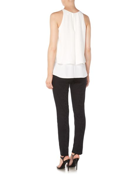 Lauren Ralph Lauren Sharnick sleevless layered top