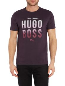 Hugo Boss Regular Fit Square Logo T Shirt