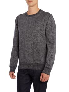 Jeff Crew Neck Long Sleeve Sweater