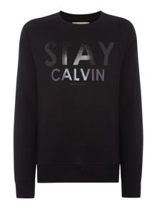Calvin Klein Jerom Crew Neck Long Sleeve Sweater
