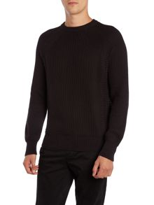 Carson Crew Neck Long Sleeve Sweater