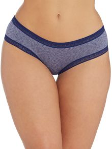 Marie Meili Janna melange lace hipster brief