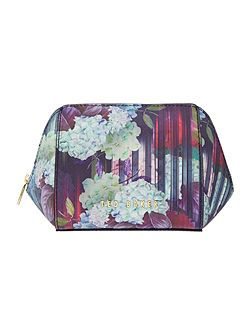 Ted Baker Peelo multi-coloured floral small cosmetic bag