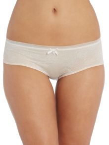 Marie Meili Rose lace brazilian brief