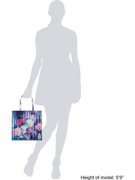 Ted Baker Danacon bowcon multi floral large tote bag