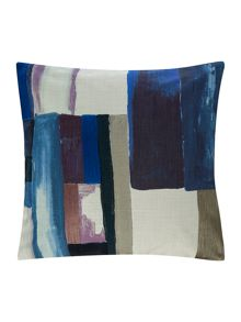 Linea Painterly abstract cushion
