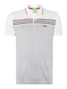 Hugo Boss Paddy 2 Regular Fit Mercerised Fleck Logo Polo