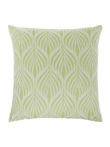 Linea Seed pod cushion green