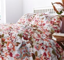 Traditional floral duvet cover set