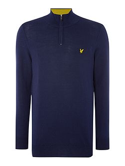 Men's Lyle and Scott Golf Merino ¼ Zip