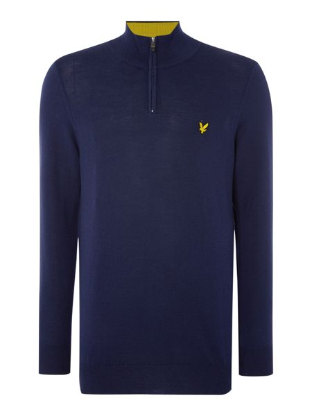 Lyle and Scott Golf Merino ¼ Zip Jumper