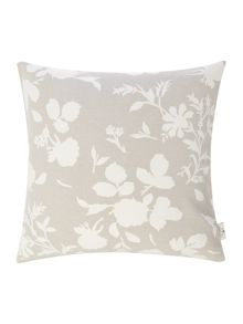 Shabby Chic Floral cushion, neutral