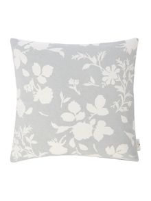 Shabby Chic Floral cushion, blue