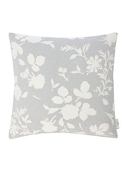 Floral cushion, blue