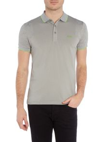 Hugo Boss Parsos Slim Fit Jaquard Insert Logo Polo