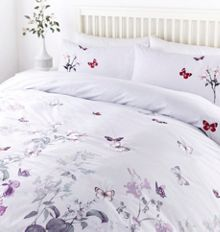 Linea Butterfly design duvet set
