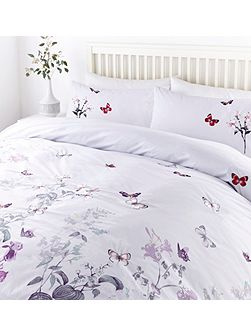 Butterfly design duvet set