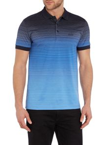 Hugo Boss Paddy 3 Regular Fit Gradient Logo Polo