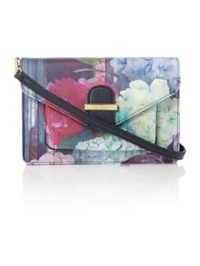 Chayla multi floral cross body bag
