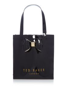 Ted Baker Didicon bowcon black small tote bag