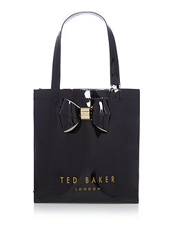 Didicon bowcon black small tote bag