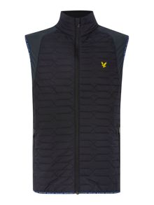 Lyle and Scott Golf Zip through padded Gilet